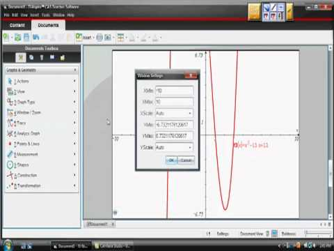 Sketching Graphs with a Ti-Nspire CAS