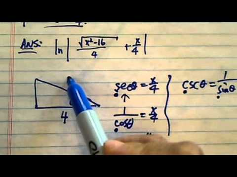 Simplify Trig Expression:  ln |sec(theta)+tan(theta)|