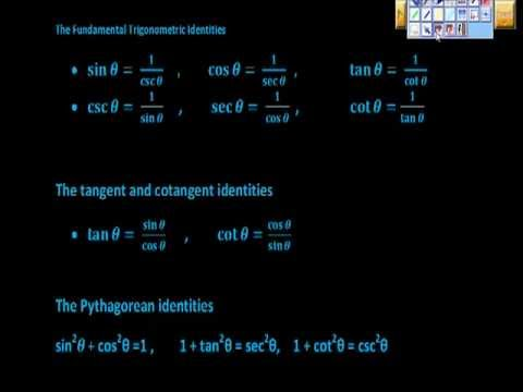 Verifying Trigonometric Identities Precalculus