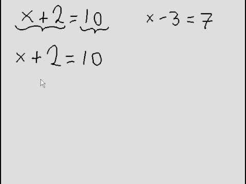 Simple Algebra - 2 more questions (one step)