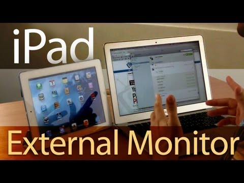 Use Your Ipad As An External Monitor