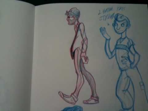 Ryan's Sketchbook Part II.mov