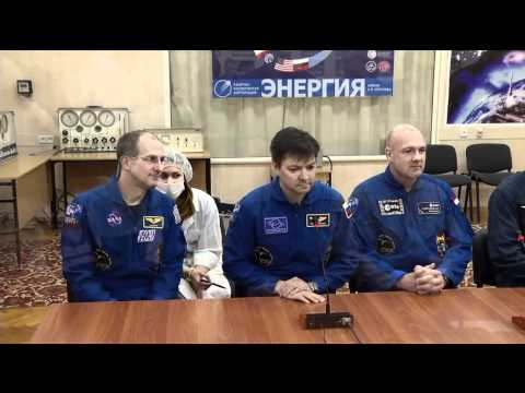 Next ISS Crew in Kazakhstan