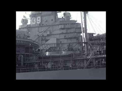Navy Initiation at Sea Vintage Silent Amateur War Film circa 1955