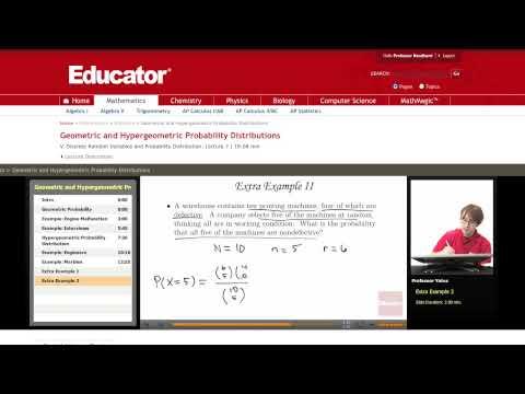 Statistics: Geometric Probability Distribution