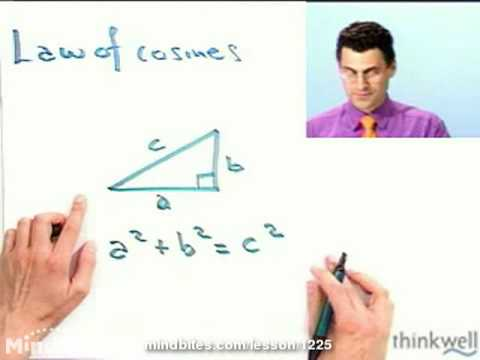 Pre-Calculus: The Law of Cosines
