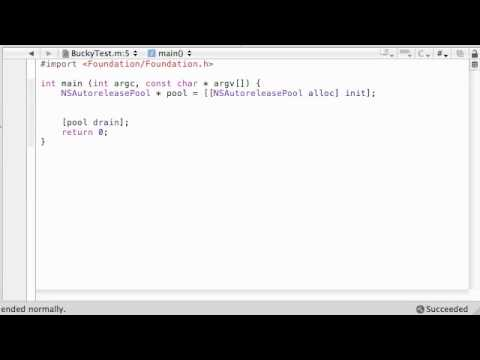 Objective C Programming Tutorial - 49 - #define Statement