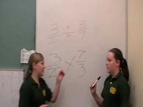 Mr Ds Maths Class dividing fractions