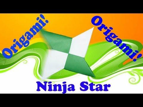 Origami Daily 143: Ninja Star (Shuriken) - TCGames [HD]