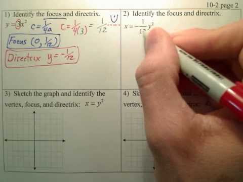10.2b Parabolas p1 - Algebra 2