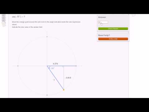 Unit Circle Manipulative