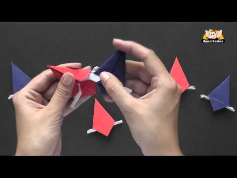 How to make a 6 Point STAR  - Origami