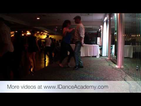 My 1st Social Club Dance On Youtube(Salsa) Musicality