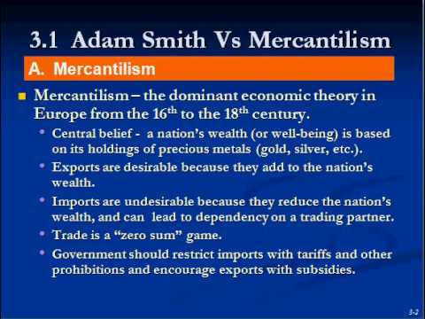 Adam Smith Theory of Trade