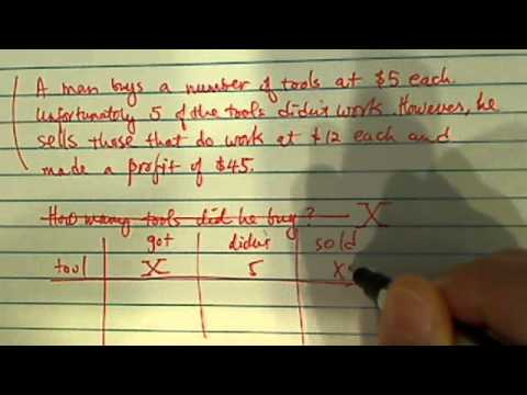 how to solve word problems (counting objects)