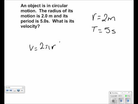 Uniform Circular Motion Presentation #15