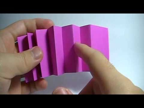 How to cut the paper to make a Bloxy