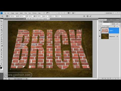 3D text - Photoshop Quick Tip - Week 56