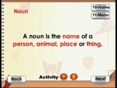 Learn Grammar - Noun - Kids Animation Series