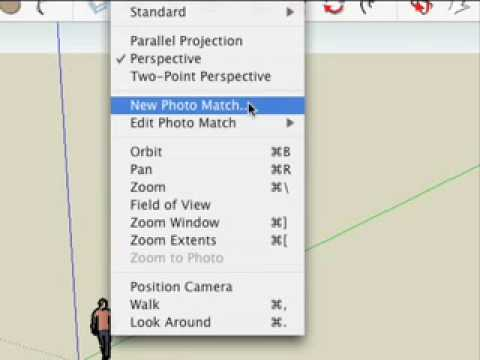 SketchUp: Creating a new Photo Match