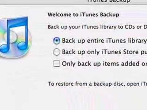 How To Back Up Your iTunes Library