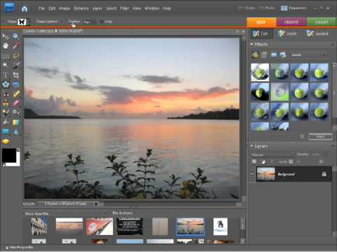 Photoshop Elements 7 Tutorial Using the cookie cutter