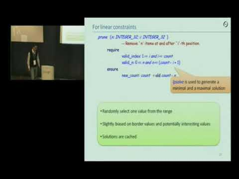 GTAC 2009 - Precondition Satisfaction by Smart Object Select