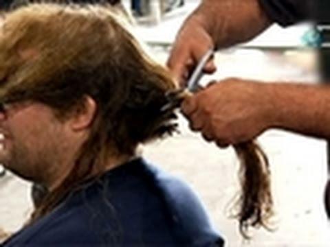 American Chopper- Mikey Donates His Hair | Senior vs. Junior