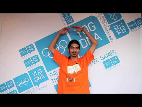 Young Ambassador - Qatar - Mansour Ameen - Singapore 2010 Youth Olympic Games