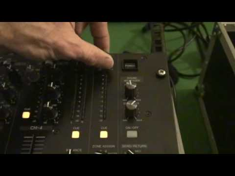 PIONEER DJM-5000.  Zone Feature explained!