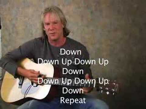 Free Acoustic Guitar Lesson Simple Strum