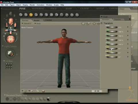 Beginners Poser Tutorial - Pose Room
