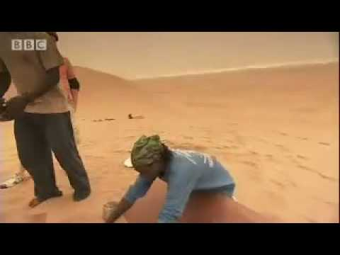 Extreme Sand Boarding  - Tropic of Capricorn - BBC travel