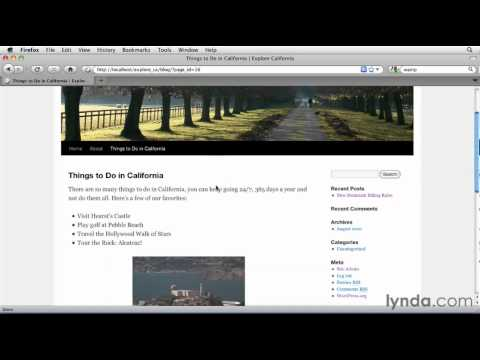 How to add images in WordPress | lynda.com tutorial