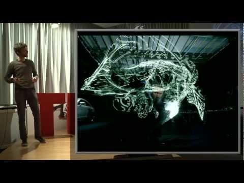 Sparkling martial arts extravaganza: Moritz Waldemeyer at TEDxStuttgart