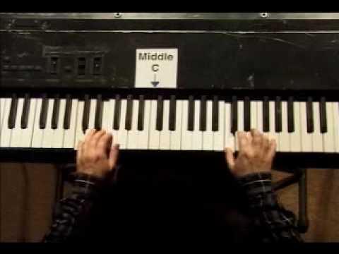 Piano Lesson - Kohler's Very Easiest Piano Studies #28