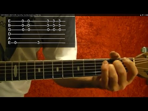 STAIRWAY TO HEAVEN Intro With Tabs