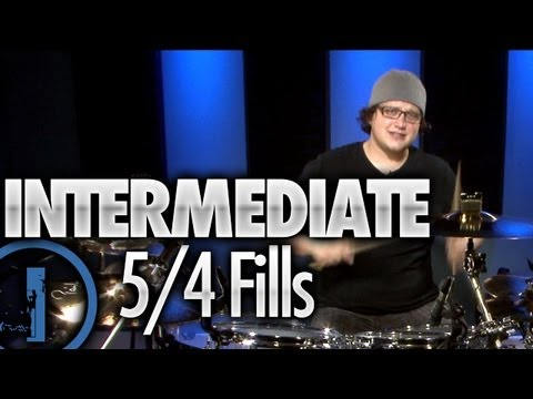 5/4 Drum Fills - Intermediate Drum Lessons