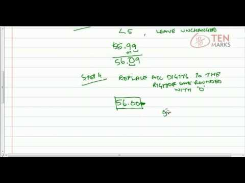 Round Decimals to the Nearest Tenth or Hundredth