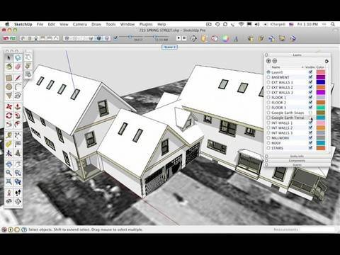 The SketchUp Show #57: Designing a Roof with Skylights