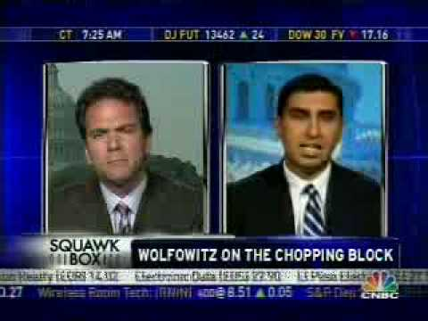 Wolfowitz Set to Resign From World Bank - CNBC
