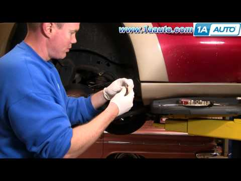How To Install Replace Leaking Rear Brake Caliper Chevy Trailblazer GMC Envoy 1AAuto.com