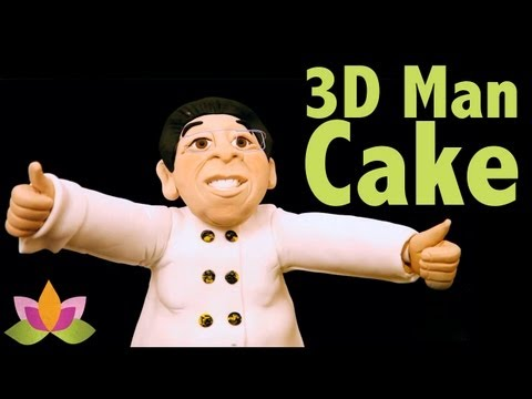 Freestyle 3D Man Cake Class. Series Finale - CAKE TRAVELS #16