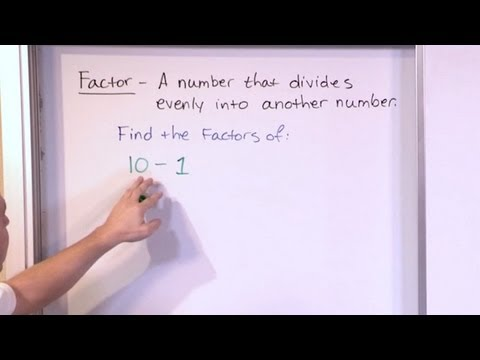 Finding Factors of Numbers - Mastering 5th Grade Math