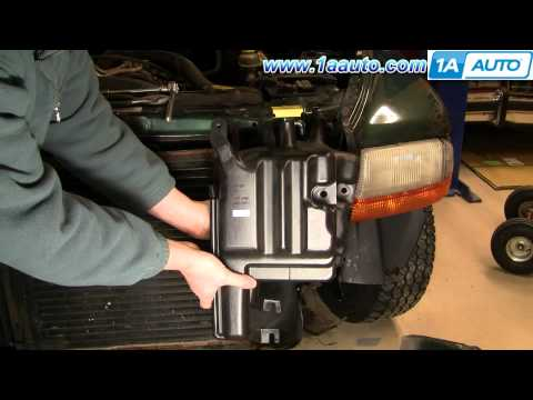 How To Install Replace Radiator Engine Coolant Bottle Dodge Durango Dakota 97-99 1AAuto.com