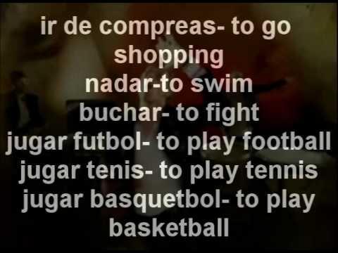 Spanish Video #1