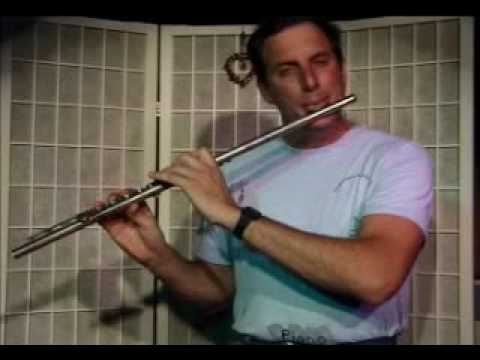 Flute Lesson: How to play a Eb Minor Chord with Arpegio