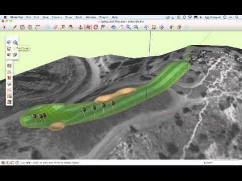 The SketchUp Show #63 - Designing Your Dream Golf Hole (Part 2)