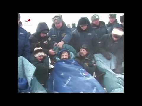 Expedition 26's Soyuz Lands Safely in Kazakhstan