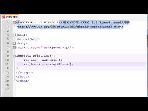 Beginner JavaScript Tutorial - 37 - Date Objects